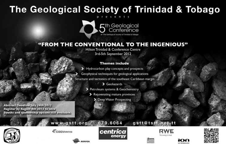 5th Geological Conference of the Geological Society of T&T