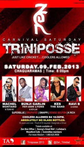 Trini Posse 2013