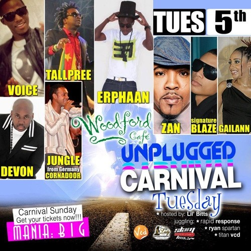 Unplugged Tuesdays! Erphaan Alves, Voice and more