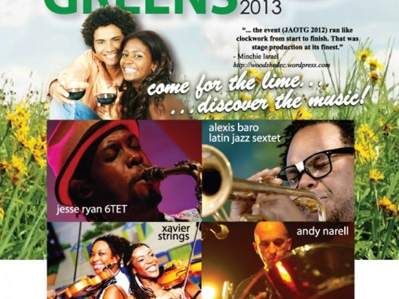 Jazz Artists on the Greens 2013