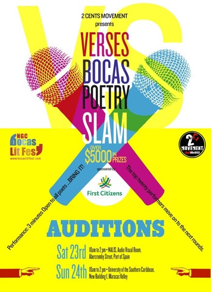 Verses: Poetry Slam Auditions