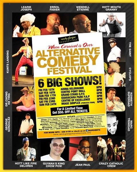 Annual Alternative Comedy Festival 2013