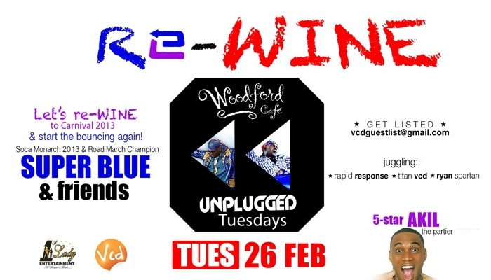 Unplugged Tuesdays! Re-Wine: Super Blue & 5 Star Akil