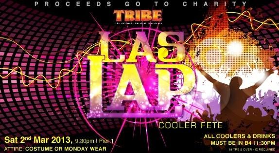Tribe Las Lap Cooler Fete 2013