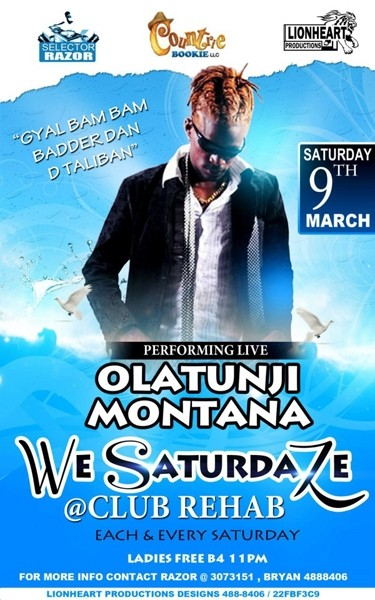 We Saturdaze ft Olatunji