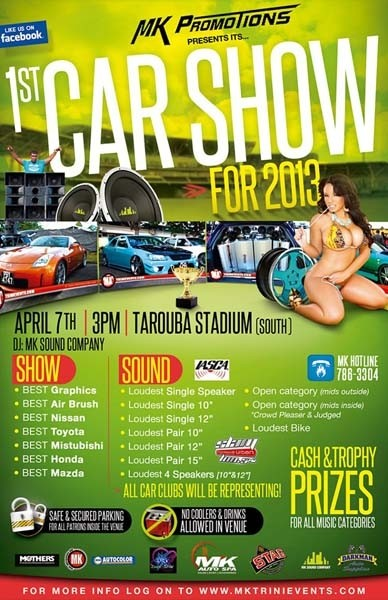 MK Promotions 1st Car Show & Sound Off of 2013