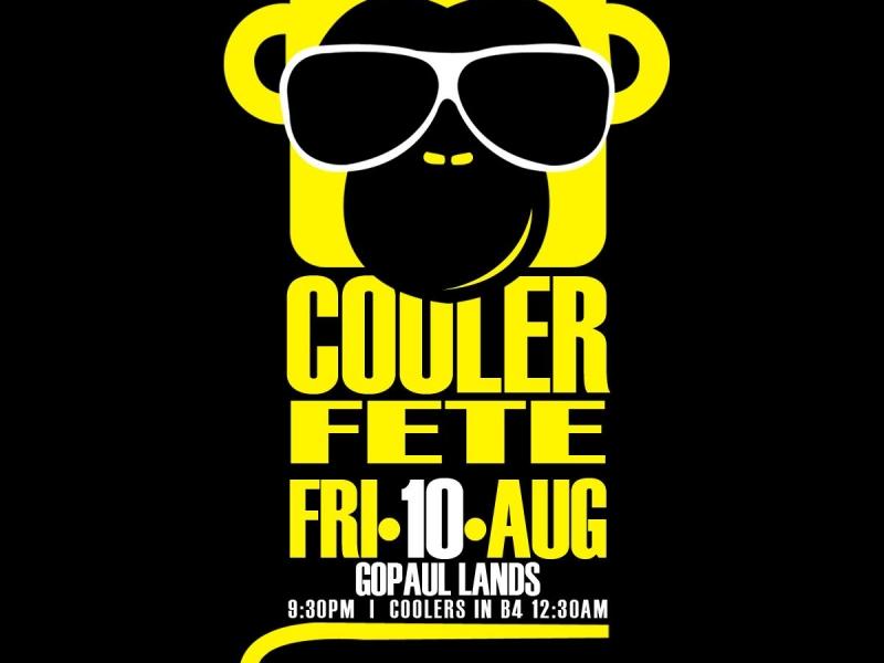 Funky Monkey Cooler Fete
