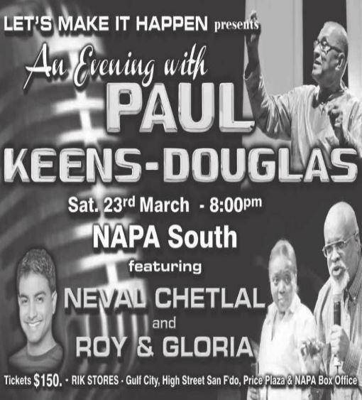 An Evening with Paul Keens-Douglas