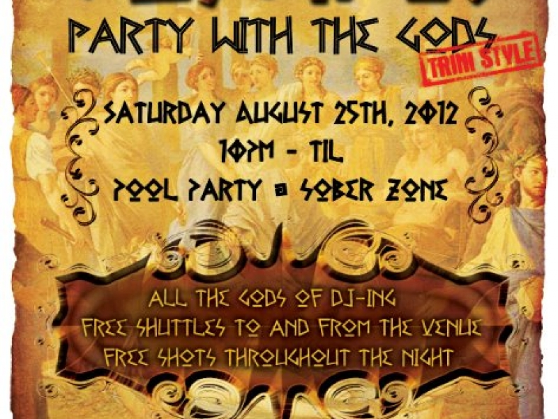 Olympus... Party with the Gods