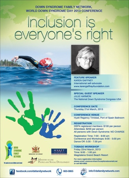 World Down Syndrome Day 2013 Conference