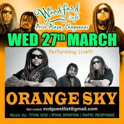 Orange Sky at Woodford Live Music Wednesdays