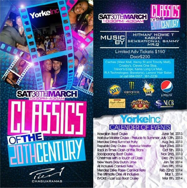 Yorke Inc Classics of the 20th Century