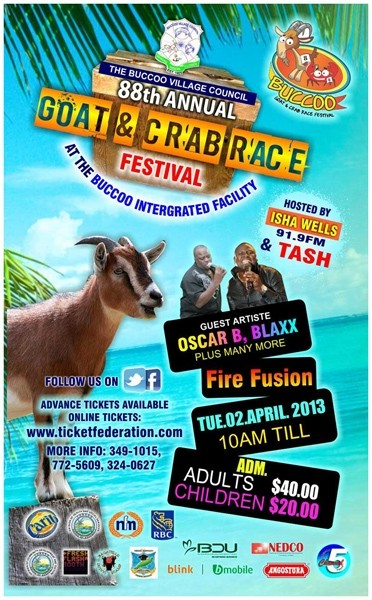 The 88th Annual Buccoo Goat & Crab Race Festival