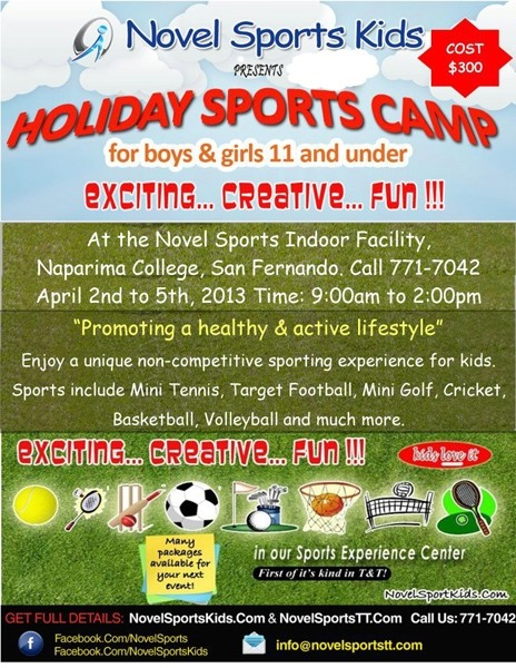 Easter Holiday Sports Camp