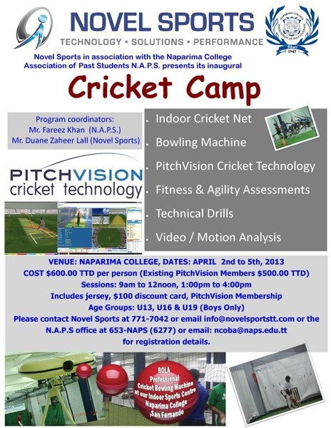 Easter Cricket Camp