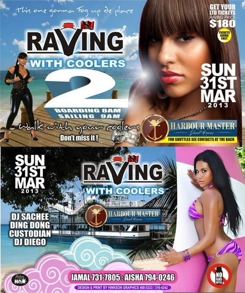 Raving With Coolers 2 Boat Ride
