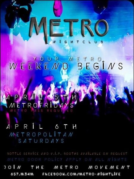 Metro Fridays