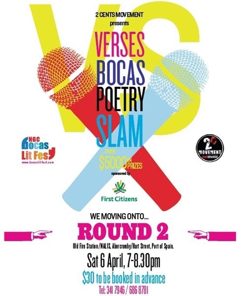 Verses Bocas Poetry Slam 2nd Preliminary Round