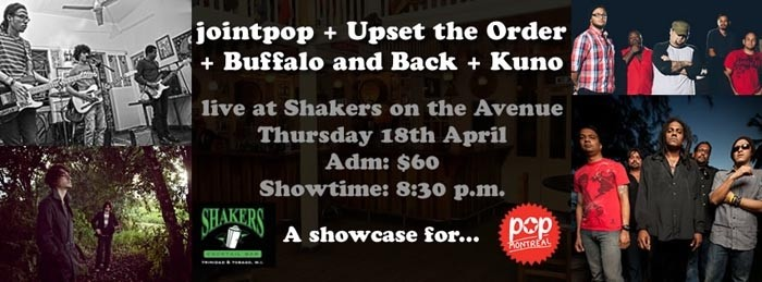 jointpop + Upset the Order + Buffalo and Back + Kuno: Pop Montreal Showcase