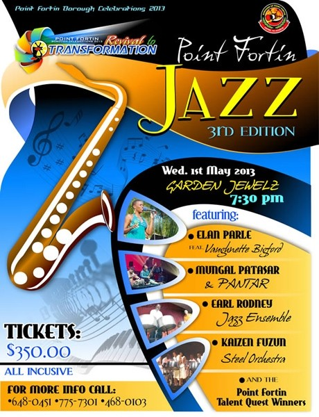 Point Fortin Jazz 3rd Edition