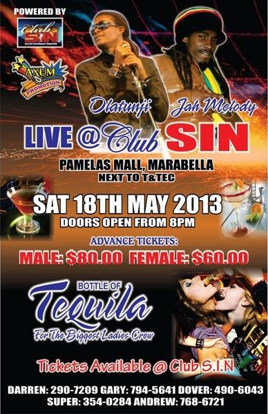 JaMelody & Olatunji Live