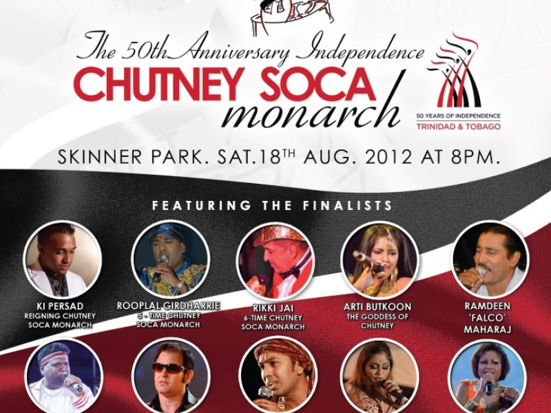 The 50th Anniversary Independence Chutney Soca Monarch