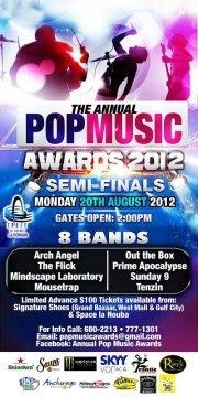 2012 Annual Pop Music Awards: Semi-Finals