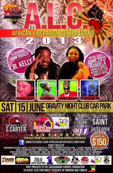 African Liberation Celebrations (A.L.C.) 2013