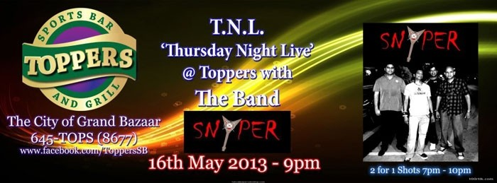 Thursday Night Live Featuring Snyper