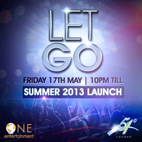 Let Go: Summer 2013 Launch