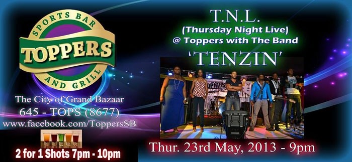 Retro Thursdaze/Thursday Night Live Featuring Tenzin