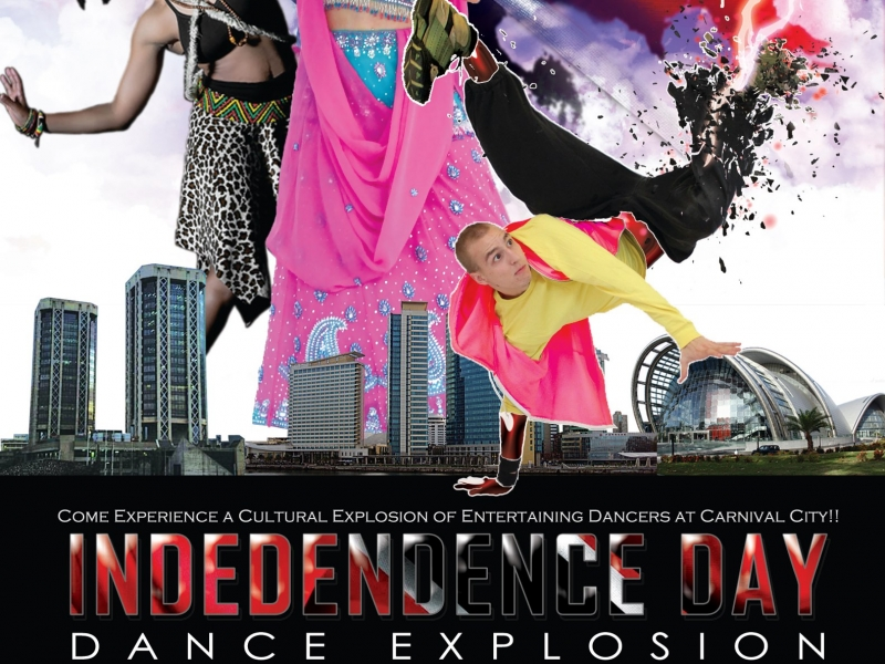 Independence Day Dance Explosion
