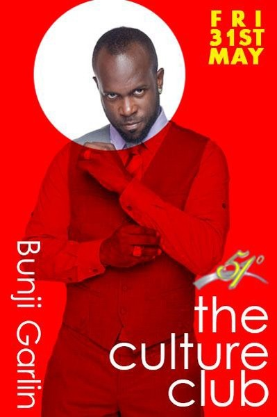 The Culture Club At 51 Degrees Presents Bunji Garlin & TC