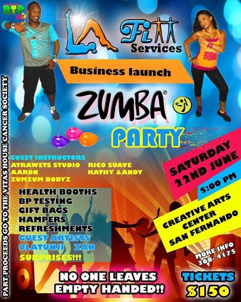 L.A FITT Services Business Launch Latin Party