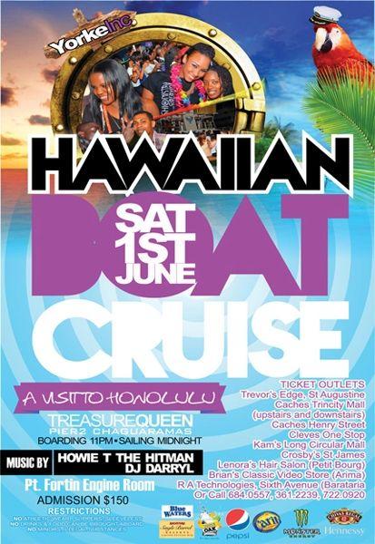 Hawaiian Boat Cruise