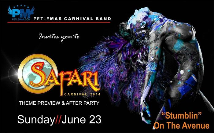 Petelemas Safari Carnival 2014 Theme Preview and After Party