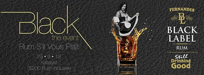 Black: The Event