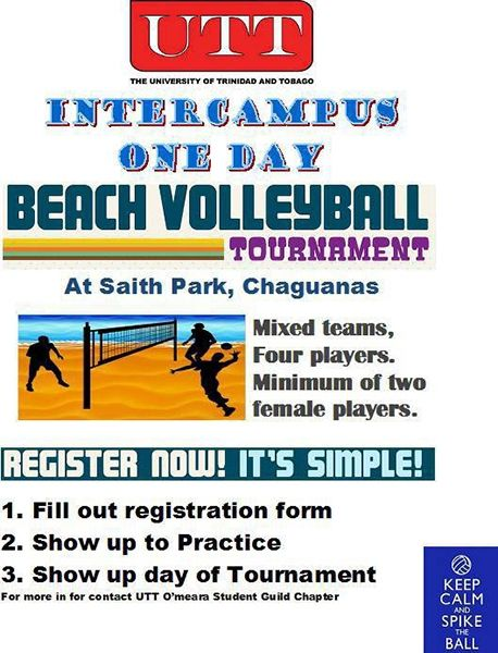 UTT Inter-Campus One Day Beach Volleyball Tournament
