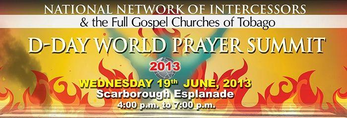 D-Day World Prayer Summit 2013