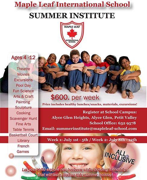 Maple Leaf International School Summer Institute