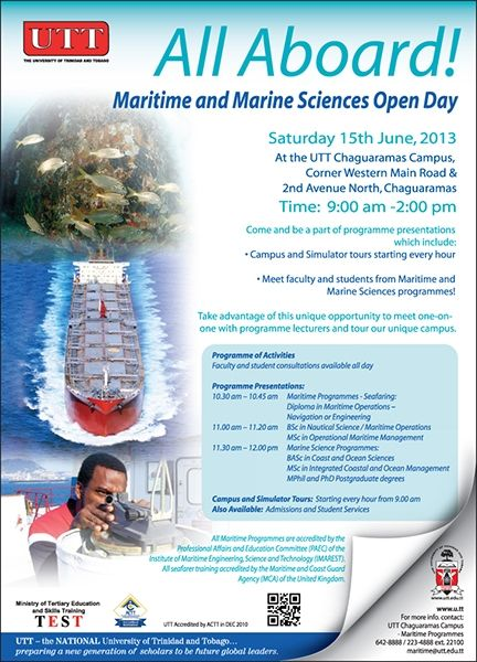 UTT Maritime and Marine Sciences Open Day