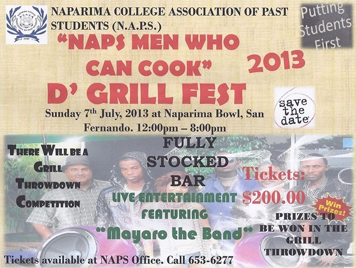 NAPS Men Who Can Cook 2013: D Grill Fest