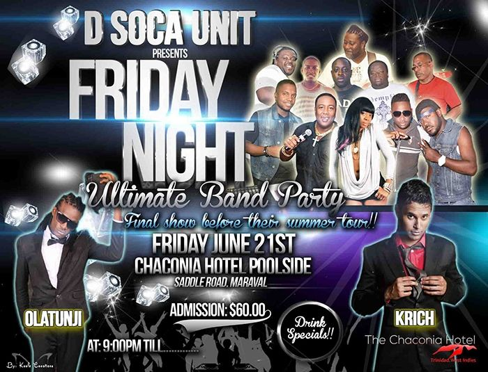 D Soca Unit Band Ultimate Band Party