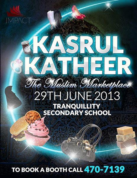 Kasrul Katheer: The Muslim Marketplace