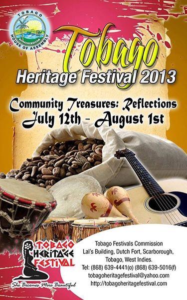Tobago Heritage Festival 2013 Launch