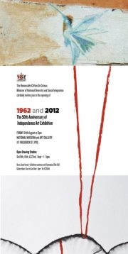 1962 and 2012: The 50th Anniversary of Independence Art Exhibition