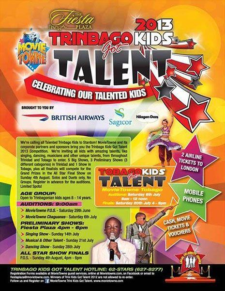 MovieTowne Trinbago Kids Got Talent 2013: Auditions