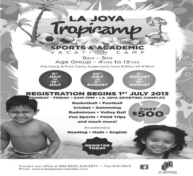 La Joya Tropicamp 2013