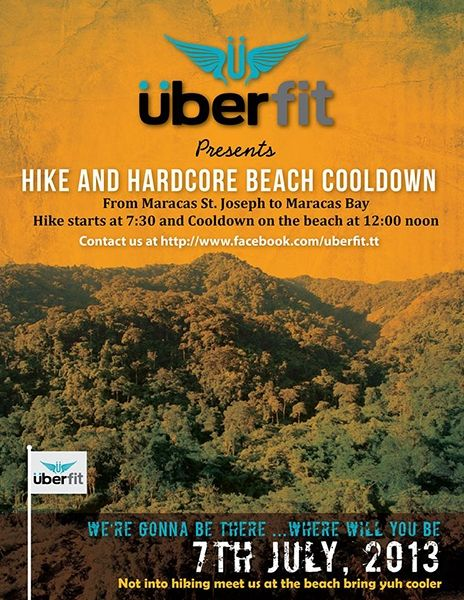 Überfit Hike and Hardcore Beach Cooldown