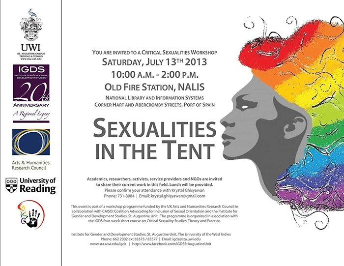 Sexualities In The Tent: Critical Sexualities Workshop